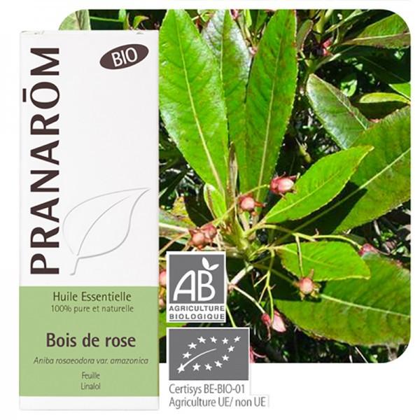 Pranarôm Huile essentielle bois de rose bio