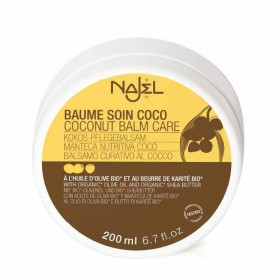 Najel Baume soin corps et cheveux coco 200ml