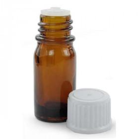 Flacon compte gouttes verre ambré 10 ml