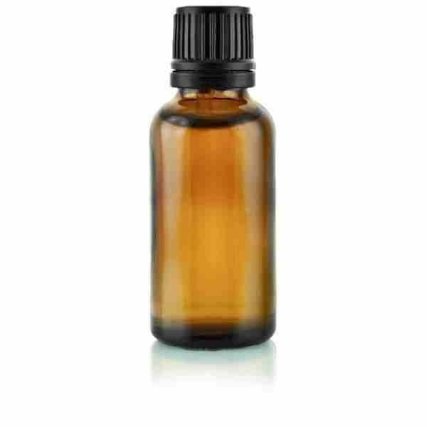 Flacon compte gouttes verre ambré 30 ml