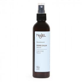 anti odeur, boutique bio, régule la transpiration, spray, pierre alun liquide, déodorant naturel