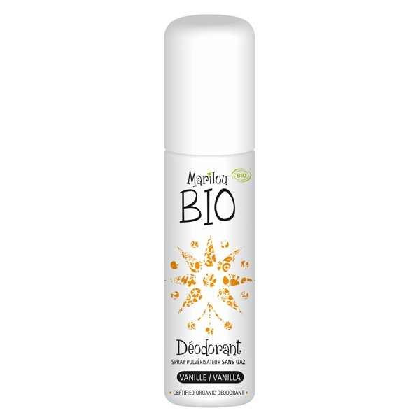 Déodorant spray Vanille Marilou Bio Anti-transpirant 75ml