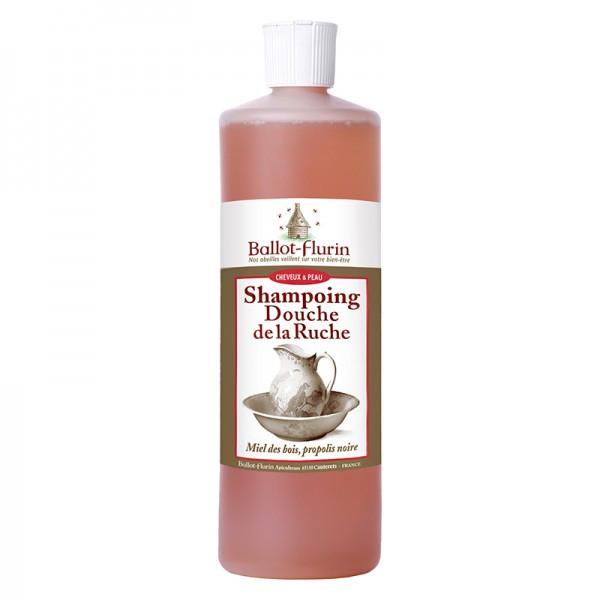Shampoing Douche Assainissant Miel et Propolis bio, Shampoing Miel bio