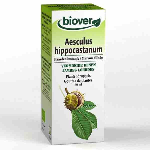 Biover Teinture mère Marron d'Inde ( Aesculus hippocastanum) circulation, jambes lourdes