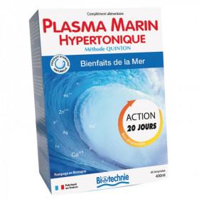 Biotechnie - Méthode Quinton Cure Plasma Marin - 40 ampoules