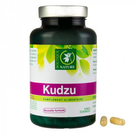 Boutique nature - Kudzu Anti-Tabac - Alcool - Addictions 270 gélules