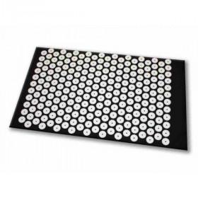 Tapis d'acupression Shanti Relax - stress - sommeil (65 x 41 cm, Noir)