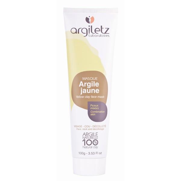 ARGILETZ - Masque Rééquilibrant naturel à l'Argile Jaune