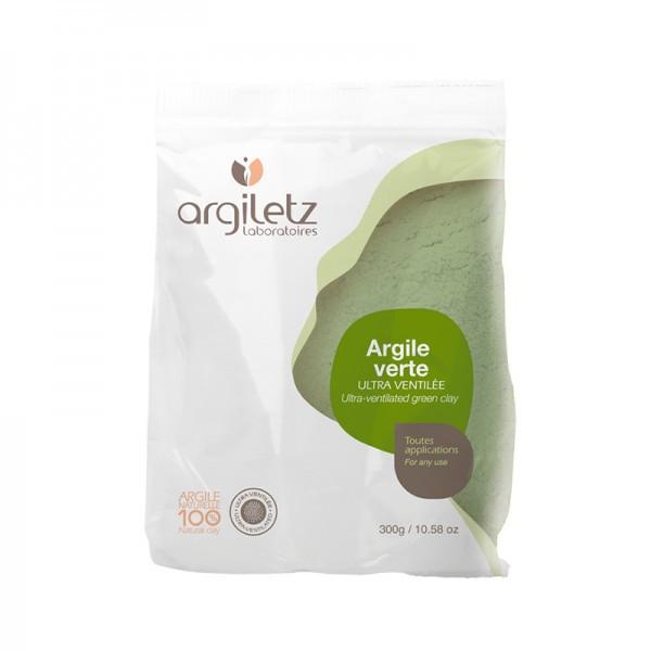 Argiletz Argile verte ultra ventilée illite 300g