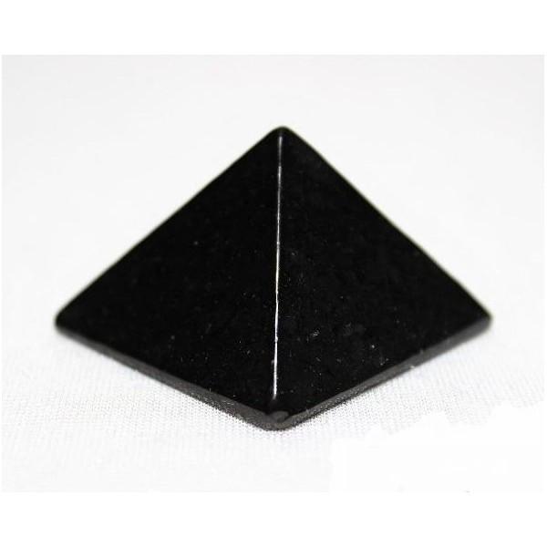 Pyramide en Shungite naturelle 40 mm - Bureau
