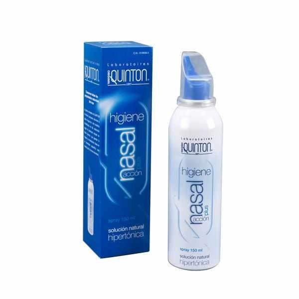 Quinton Spray nasal Action plus hypertonique 150ml