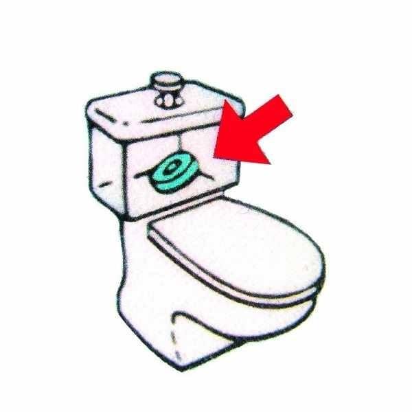 Ecodis Anneau magnétique aimant Anti calcaire Anti-tartre pour WC