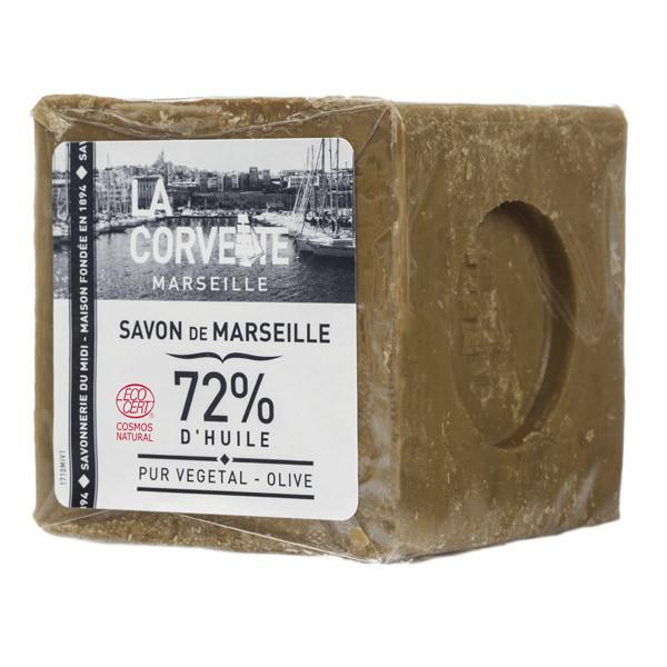 La Corvette - Véritable savon de Marseille Olive BIO filmé 300g