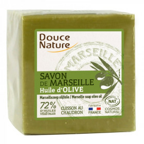 Savon de Marseille à l'huile d'olive - Vert - 300 g,