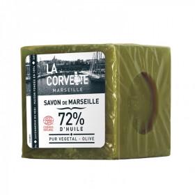 La Corvette - Véritable savon de Marseille Olive BIO filmé 500g