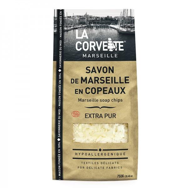 Copeaux de Savon de Marseille,Copeaux de Savon de Marseille glycérinés 750 g,Copeaux de Savon de Marseille