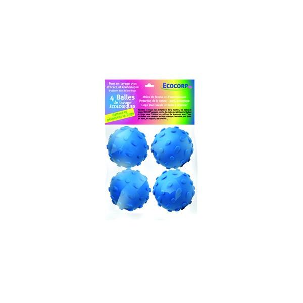 Lot de 4 Balles-battoirs de lavage écologique
