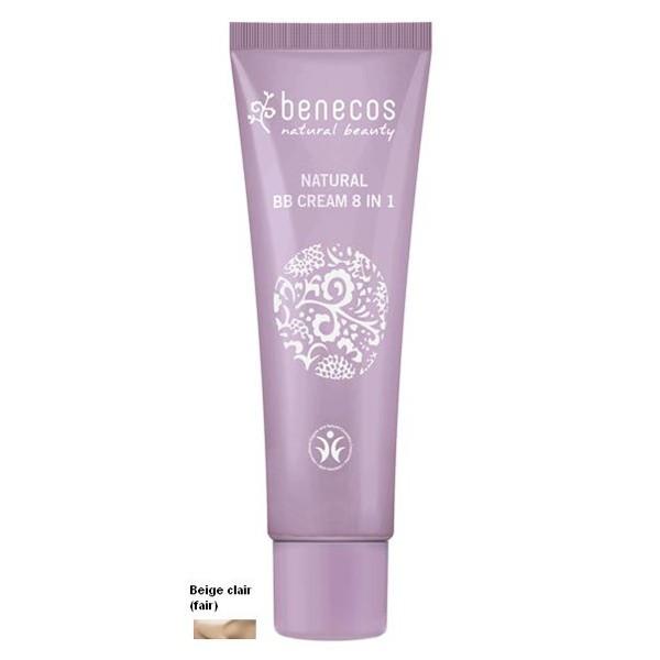 Benecos BB Crème Beige Clair 8 en 1 Bio 30ml