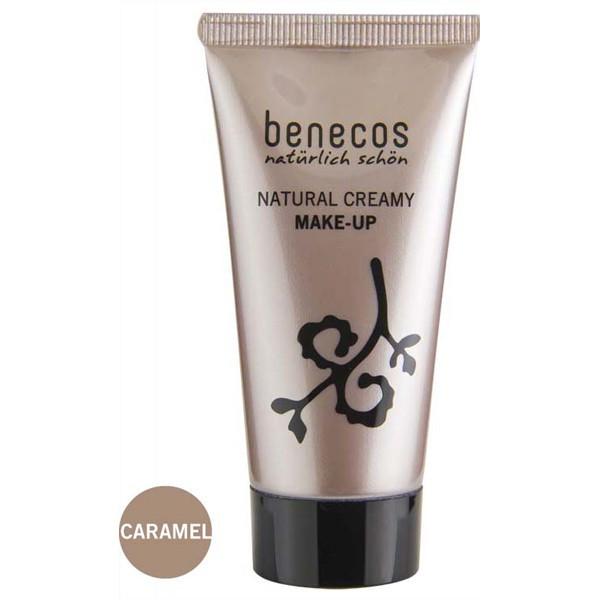 Benecos Fond de teint crème Caramel 30ml
