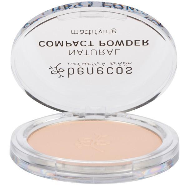 Benecos - Poudre compacte porcelaine Bio 9 g