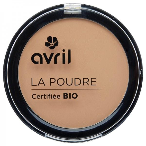 Avril, Poudre compacte bio, Nude, Naturel, maquillage bio