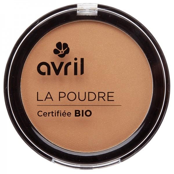 Avril, Poudre bronzante ambrée bio, teint parfait