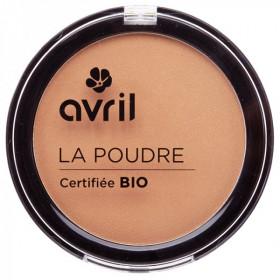 Avril, Poudre bronzante bio dorée , maquillage, effet bonne mine,Poudre bronzante bio,Poudre bronzante bio