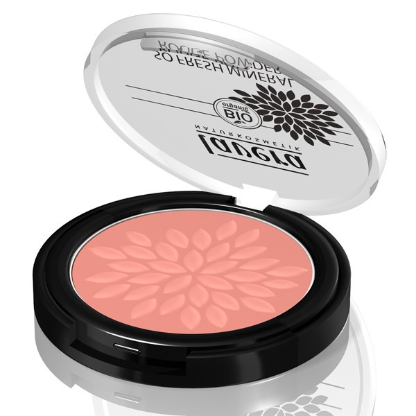 Lavera, fard à joue bio, minéral , Rosé pâle, fard à joue bio scintillant , blush
