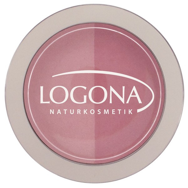 Logona Fard à joues blush duo N° 1 pink - 10 g