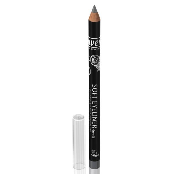 Lavera Crayon à paupières Soft Eyeliner gris bio
