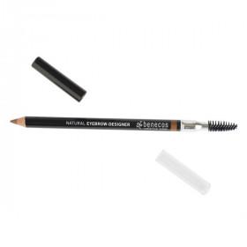 Benecos Crayon à sourcils châtain (gentle brown) 1.13g