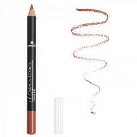 Avril Crayon à lèvres nude (naturel) bio 1g