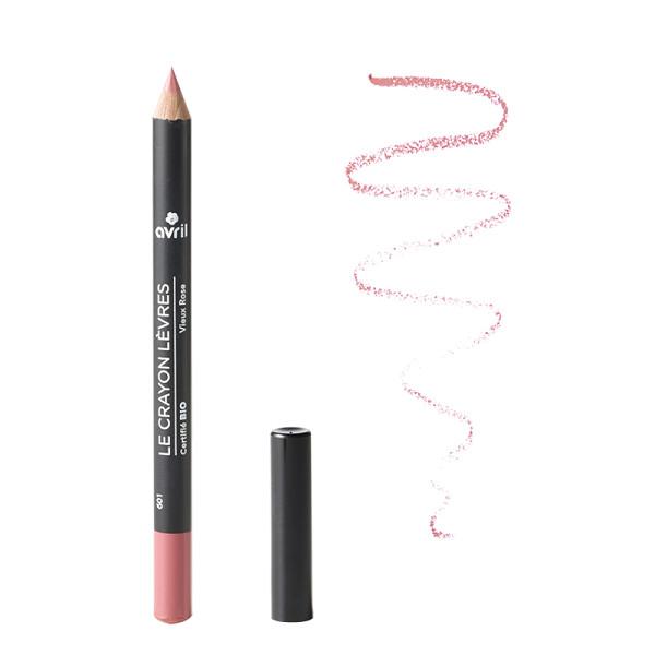 Avril - Crayon contour des lèvres Vieux rose bio