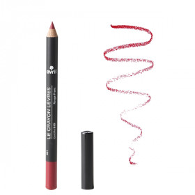 Avril - Crayon contour des lèvres Rouge Franc Bio
