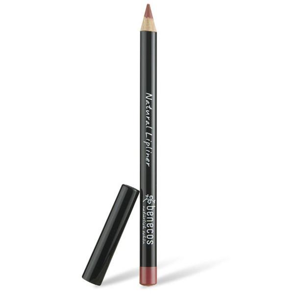 Benecos Crayon contour des lèvres brun rosé, Crayon contour des lèvres brun,Crayon contour des lèvres brun