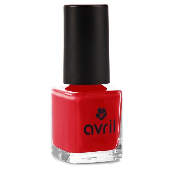 Avril Vernis à ongles rouge Vermillon N° 33 pas cher, prtit prix