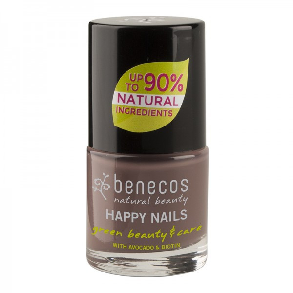Benecos - Vernis à ongles gris galet (rock it !) - 9 ml
