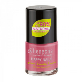 Benecos - Vernis à ongles rose bonbon (flamingo) - 9 ml