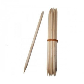 Repousses cuticules en bois x 10