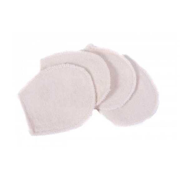 Anaé 4 Mini Gants Lavables à Démaquiller en coton bio