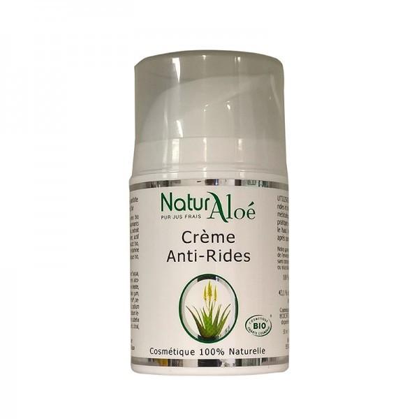 Naturaloe Crème anti rides Bio et 100% naturelle 50ml