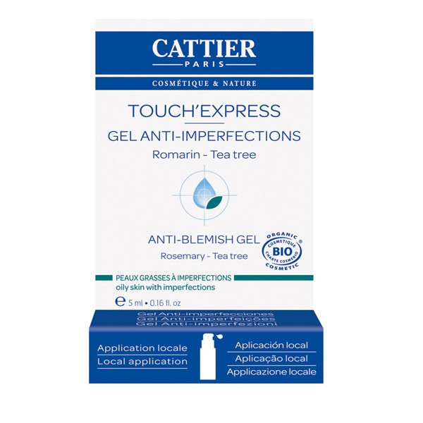 Touch'Express gel anti imperfections bio Peaux Jeunes - 5ml