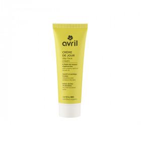Crème de jour peau sèche et sensible bio Huile de Noyau d'Abricot 50ml