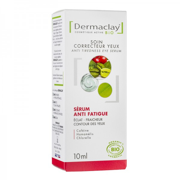 Dermaclay Sérum anti-poches, cernes et anti fatigue bio 10ml