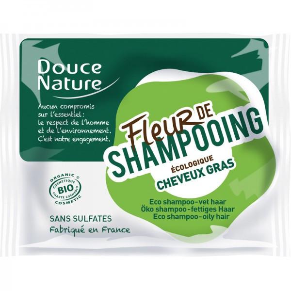 Douce nature - Fleur de shampooing Cheveux gras bio