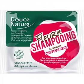 Douce nature - Fleur de shampoing cheveux secs bio