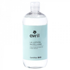 Avril Lotion micellaire bio Bleuet Aloe Vera 500ml