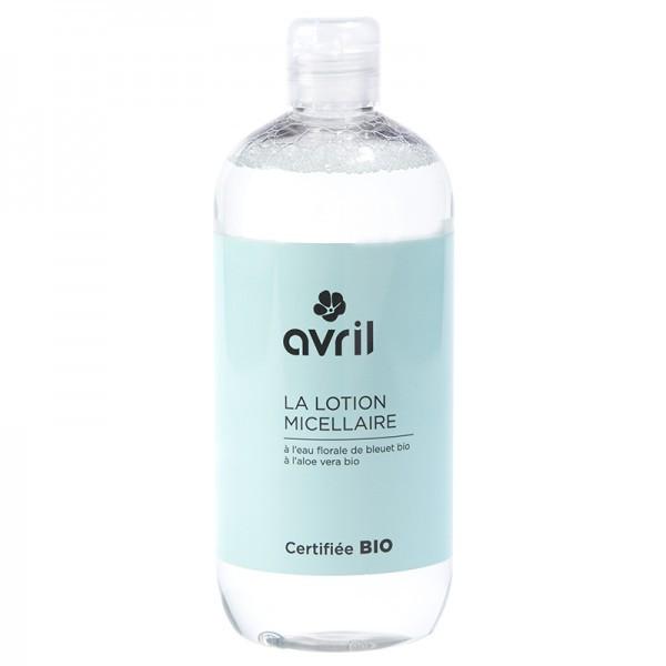 Avril Lotion micellaire bio Bleuet Aloe Vera 500ml