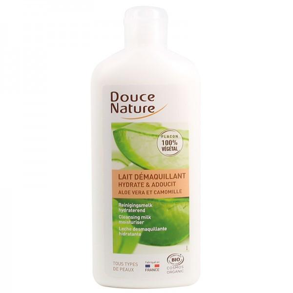 Douce Nature Lait démaquillant hydratant Aloé Véra et Karité bio 300ml