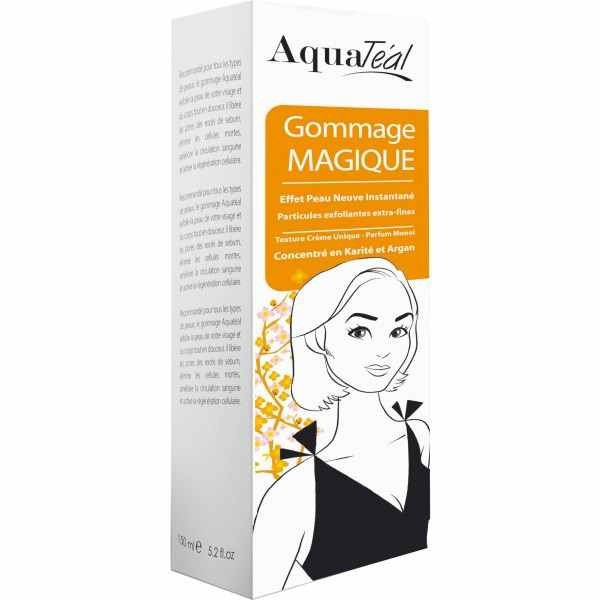 Aquatéal Gommage Peeling Magique Visage et Corps 150ml
